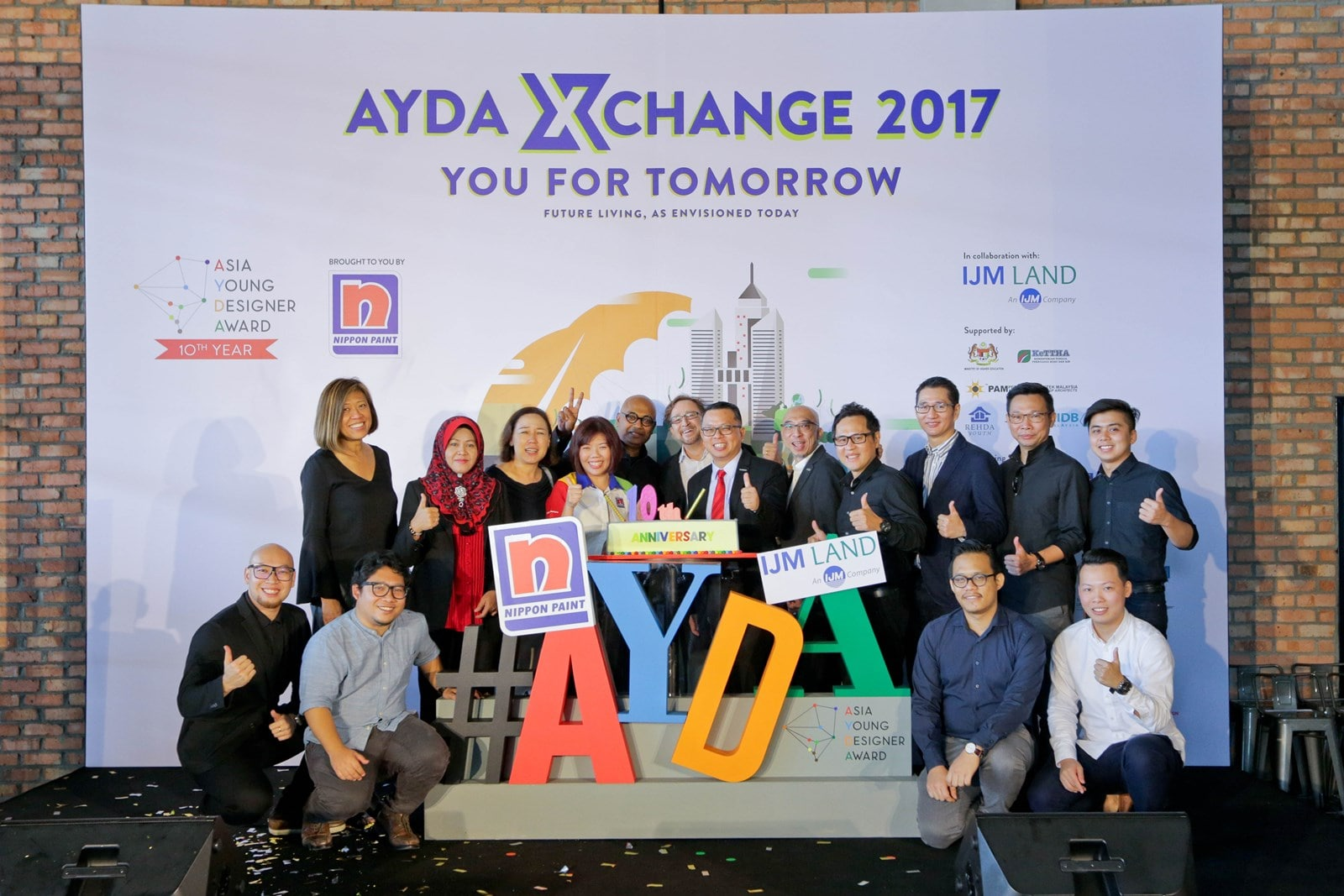 Launching the first AYDA XChange and the theme for AYDA 2017