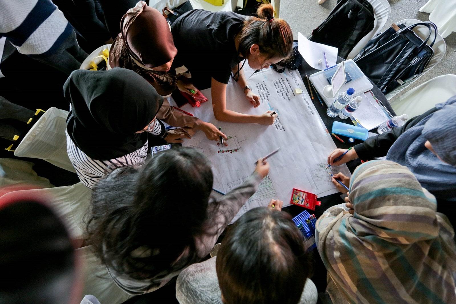 Group activity at AYDA XChange