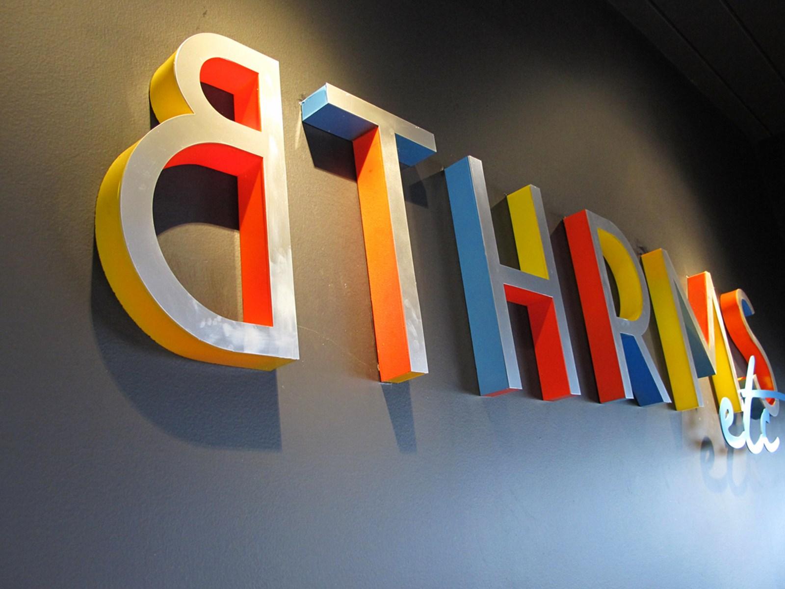 BTHRMS Brand Logo at the Gallery in Petaling Jaya.
