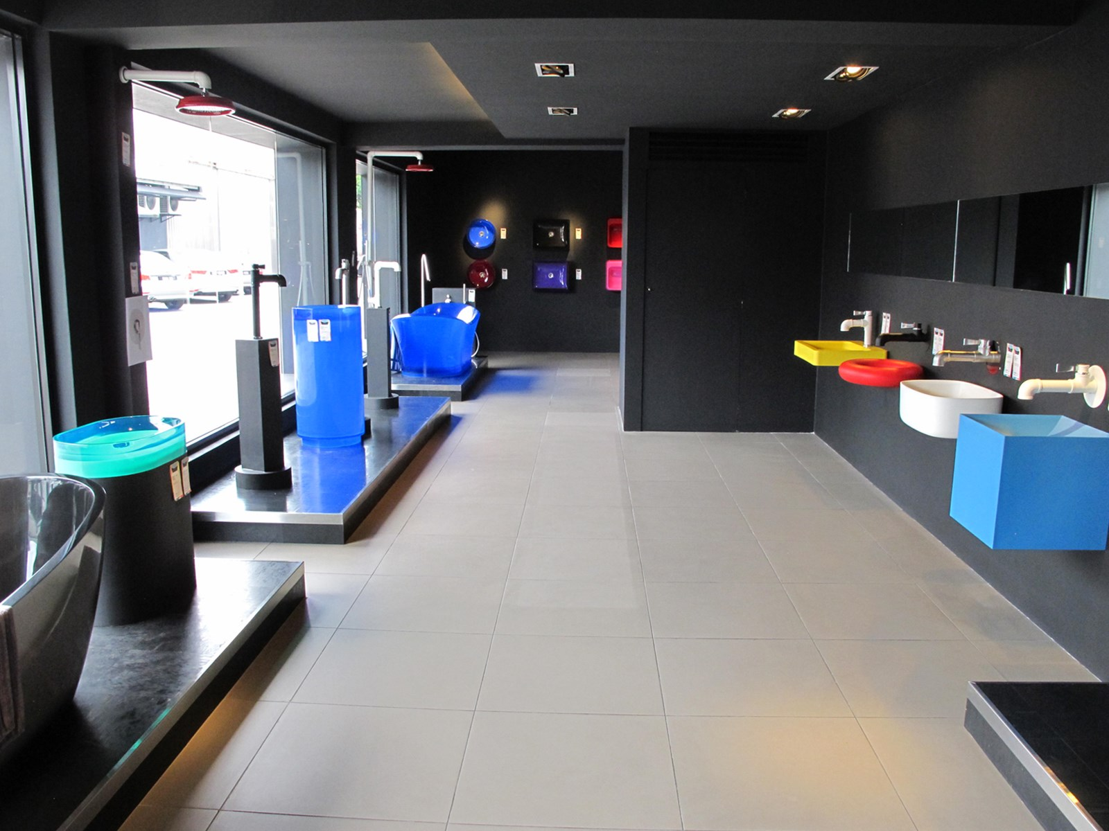 Innovative bathroom products in vibrant colours provide greater choice to suit individual styles.