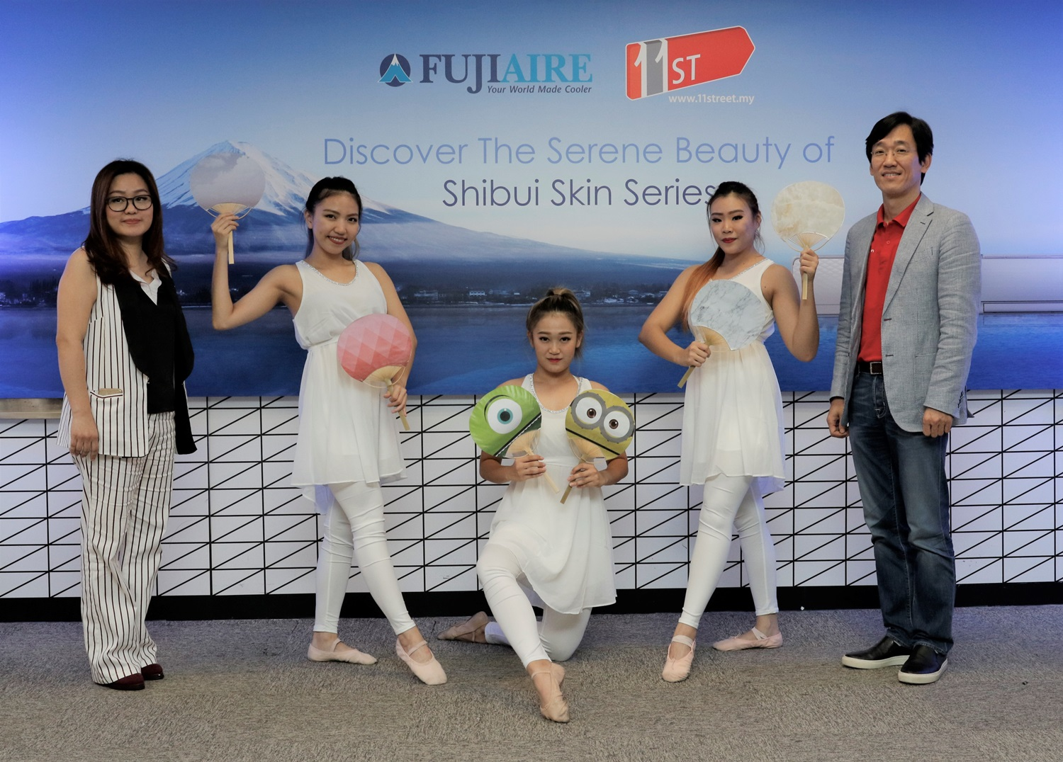 Fujiaire Wifi Functionality Launch Event