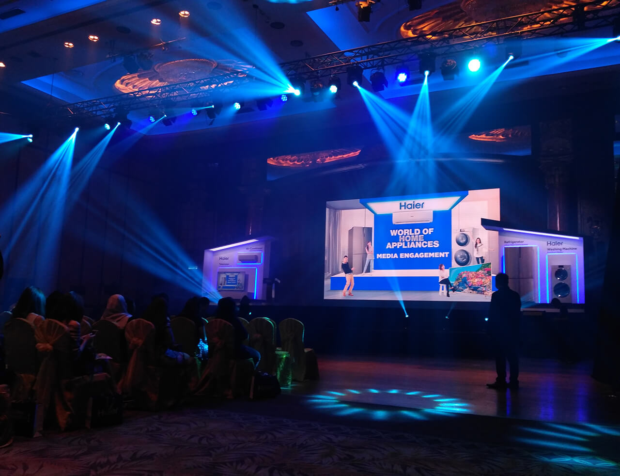 The Haier World of Home Appliances unveiling event